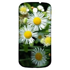 White Summer Flowers Oil Painting Art Samsung Galaxy S3 S Iii Classic Hardshell Back Case by picsaspassion