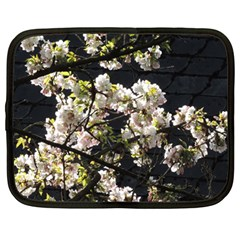 Japanese Cherry Blossom Netbook Case (large) by picsaspassion