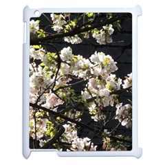 Japanese Cherry Blossom Apple Ipad 2 Case (white) by picsaspassion