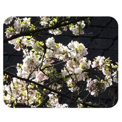 Japanese Cherry Blossom Double Sided Flano Blanket (medium)  by picsaspassion