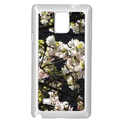 Japanese Cherry Blossom Samsung Galaxy Note 4 Case (white) by picsaspassion