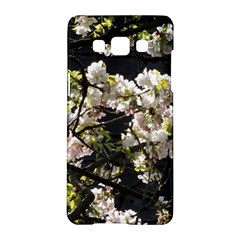 Japanese Cherry Blossom Samsung Galaxy A5 Hardshell Case  by picsaspassion