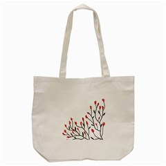 Elegant Tree Tote Bag (cream) by Valentinaart