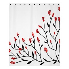 Elegant Tree Shower Curtain 60  X 72  (medium)  by Valentinaart