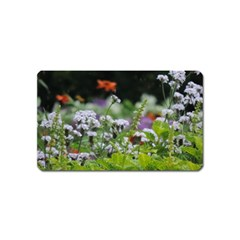 Wild Flowers Magnet (name Card) by picsaspassion