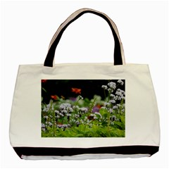 Wild Flowers Basic Tote Bag by picsaspassion