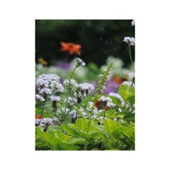 Wild Flowers Shower Curtain 48  x 72  (Small)  by picsaspassion
