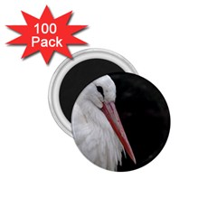 Stork Bird 1 75  Magnets (100 Pack)  by picsaspassion