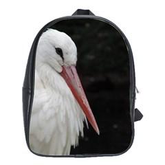 Stork Bird School Bags(large)  by picsaspassion
