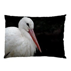 Stork Bird Pillow Case (two Sides)