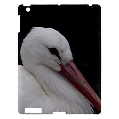 Wild Stork Bird Apple Ipad 3/4 Hardshell Case by picsaspassion