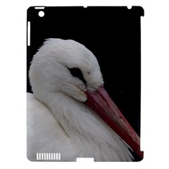Wild Stork Bird Apple Ipad 3/4 Hardshell Case (compatible With Smart Cover) by picsaspassion