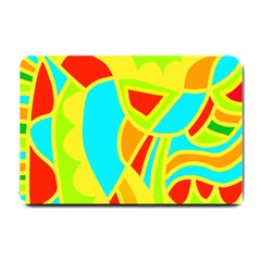 Colorful Decor Small Doormat  by Valentinaart
