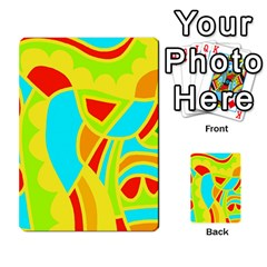 Colorful Decor Multi Purpose Cards (rectangle)  by Valentinaart