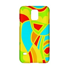 Colorful Decor Samsung Galaxy S5 Hardshell Case  by Valentinaart