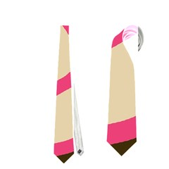 Dog face Neckties (Two Side)  by Valentinaart