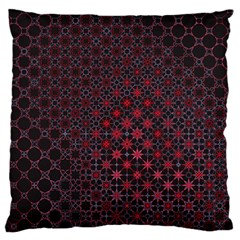 Star Patterns Large Flano Cushion Case (One Side) by Zeze