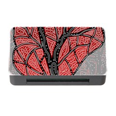 Decorative Tree 1 Memory Card Reader With Cf by Valentinaart