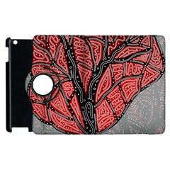 Decorative Tree 1 Apple Ipad 3/4 Flip 360 Case by Valentinaart