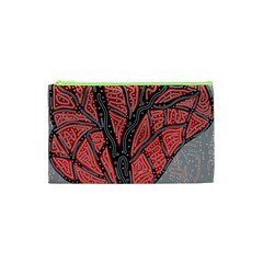 Decorative Tree 1 Cosmetic Bag (xs) by Valentinaart
