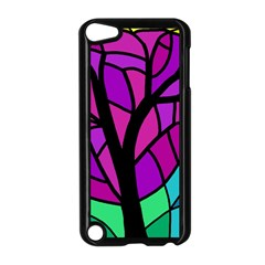 Decorative Tree 2 Apple Ipod Touch 5 Case (black) by Valentinaart