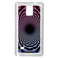 Spider Web Samsung Galaxy Note 4 Case (White) by Zeze