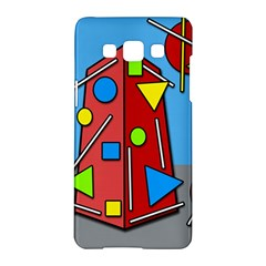 Crazy Building Samsung Galaxy A5 Hardshell Case  by Valentinaart