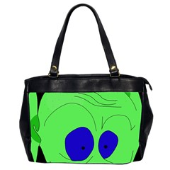 Alien By Moma Office Handbags (2 Sides)  by Valentinaart