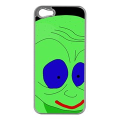 Alien By Moma Apple Iphone 5 Case (silver) by Valentinaart