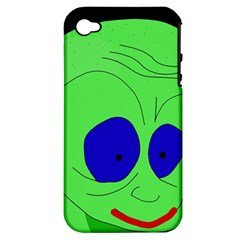 Alien By Moma Apple Iphone 4/4s Hardshell Case (pc+silicone) by Valentinaart