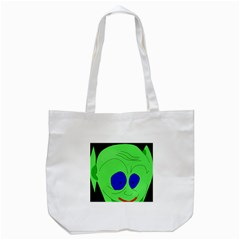 Alien By Moma Tote Bag (white) by Valentinaart