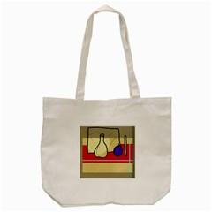 Decorative Art Tote Bag (cream) by Valentinaart