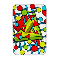 Crazy Geometric Art Samsung Galaxy Note 8 0 N5100 Hardshell Case  by Valentinaart