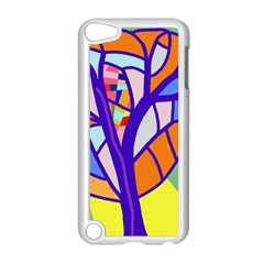 Decorative Tree 4 Apple Ipod Touch 5 Case (white) by Valentinaart
