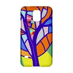 Decorative Tree 4 Samsung Galaxy S5 Hardshell Case  by Valentinaart