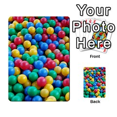 Funny Colorful Red Yellow Green Blue Kids Play Balls Multi Purpose Cards (rectangle)  by yoursparklingshop