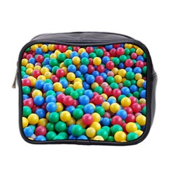 Funny Colorful Red Yellow Green Blue Kids Play Balls Mini Toiletries Bag 2 Side by yoursparklingshop