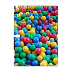 Funny Colorful Red Yellow Green Blue Kids Play Balls Samsung Galaxy Note 10 1 (p600) Hardshell Case by yoursparklingshop