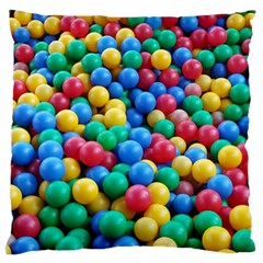 Funny Colorful Red Yellow Green Blue Kids Play Balls Standard Flano Cushion Case (one Side) by yoursparklingshop