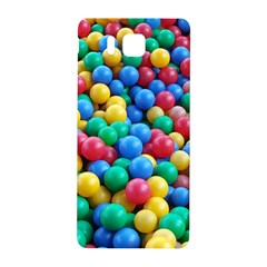 Funny Colorful Red Yellow Green Blue Kids Play Balls Samsung Galaxy Alpha Hardshell Back Case by yoursparklingshop