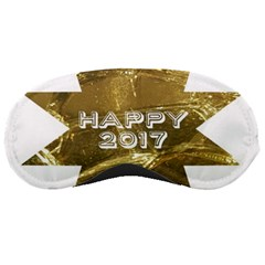 Happy New Year 2017 Gold White Star Sleeping Masks by yoursparklingshop