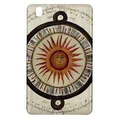 Ancient Aztec Sun Calendar 1790 Vintage Drawing Samsung Galaxy Tab Pro 8 4 Hardshell Case by yoursparklingshop