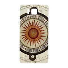 Ancient Aztec Sun Calendar 1790 Vintage Drawing Samsung Galaxy Alpha Hardshell Back Case by yoursparklingshop