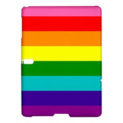 Colorful Stripes Lgbt Rainbow Flag Samsung Galaxy Tab S (10 5 ) Hardshell Case  by yoursparklingshop