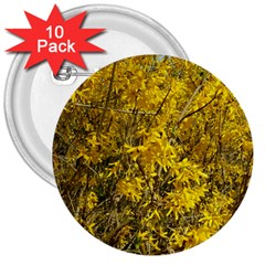 Nature, Yellow Orange Tree Photography 3  Buttons (10 Pack)  by yoursparklingshop