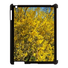 Nature, Yellow Orange Tree Photography Apple Ipad 3/4 Case (black) by yoursparklingshop