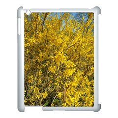 Nature, Yellow Orange Tree Photography Apple Ipad 3/4 Case (white) by yoursparklingshop