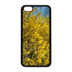 Nature, Yellow Orange Tree Photography Apple Iphone 5c Seamless Case (black) by yoursparklingshop