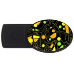 Floating USB Flash Drive Oval (2 GB)  Front