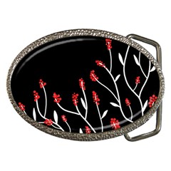 Elegant Tree 2 Belt Buckles by Valentinaart